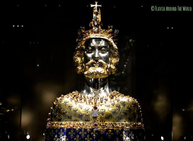 Busto de Carlomagno