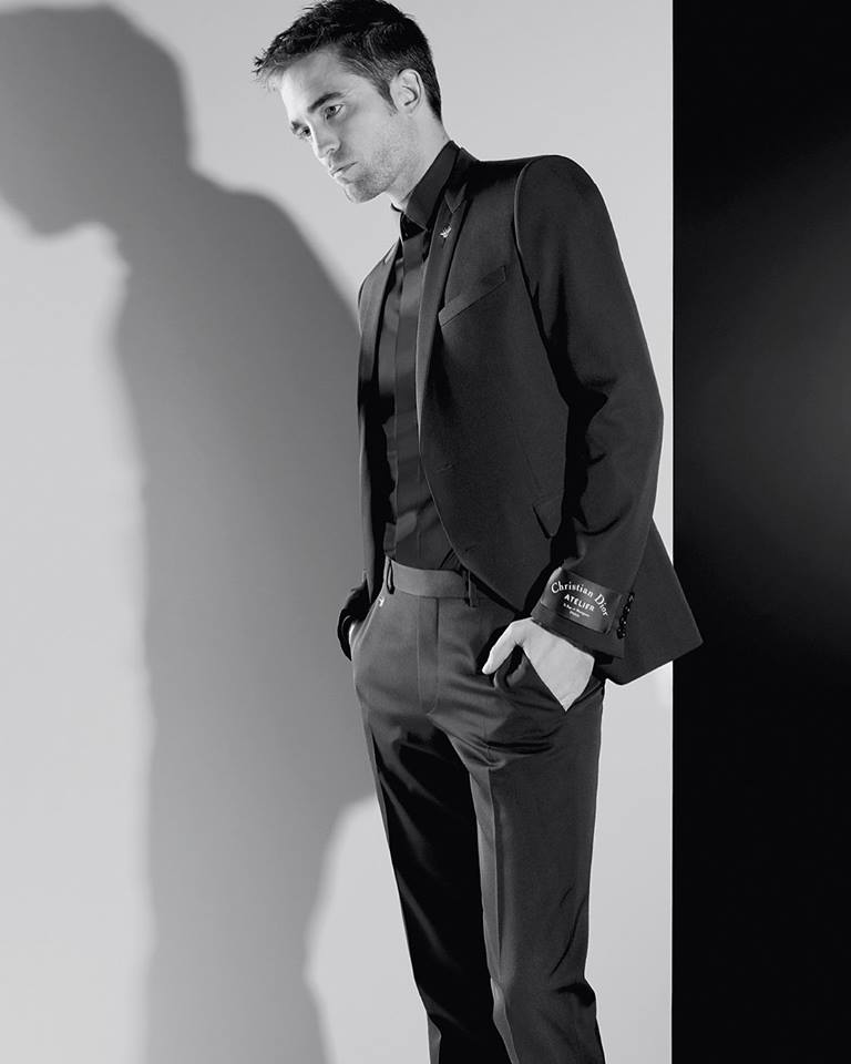 Robert Pattinson in the new Dior Homme campaign