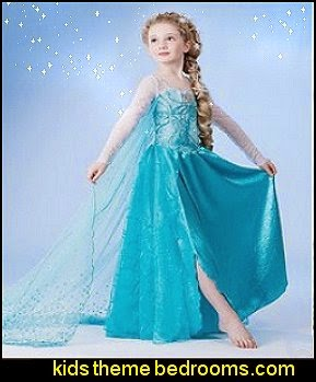costume  Elsa Anna frozen Dress for Girl Princess Dresses party costume