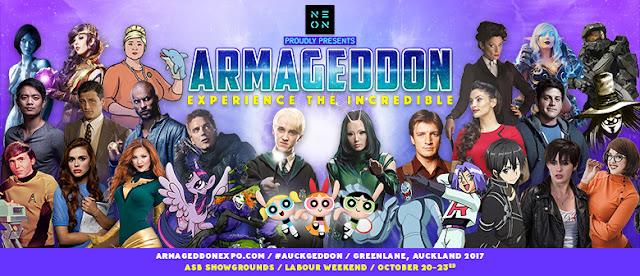 Auckland's Armageddon Expo!