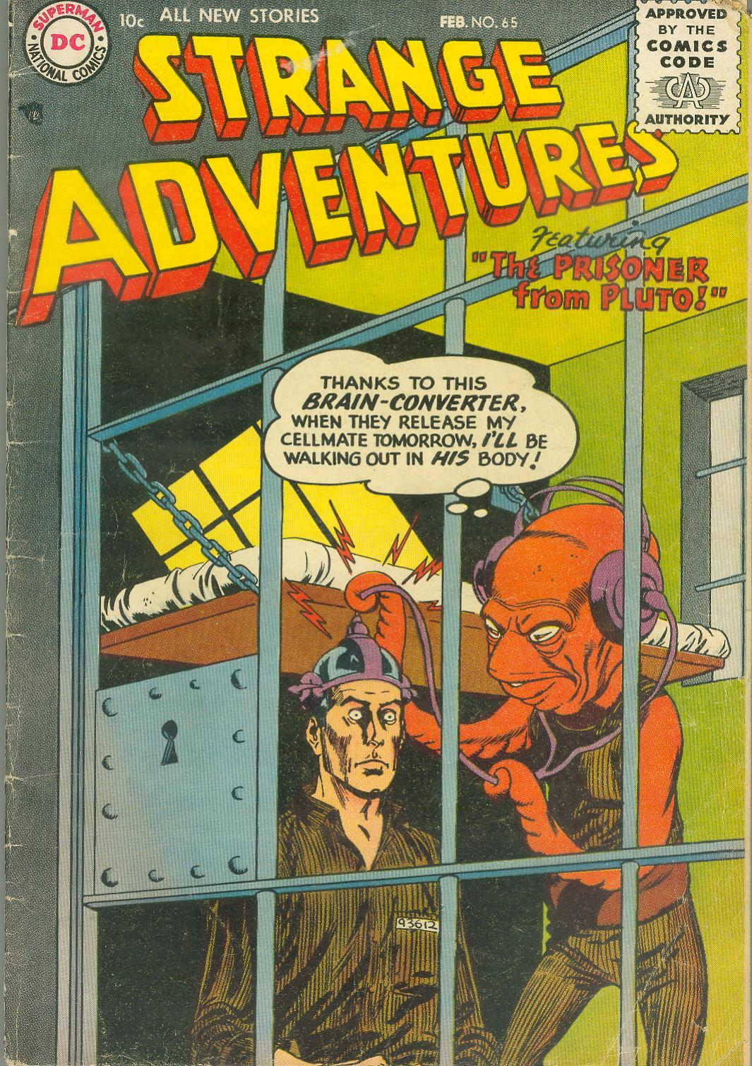 Strange Adventures (1950) issue 65 - Page 1