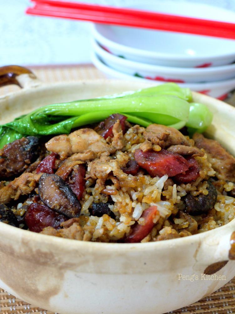 Peng S Kitchen Chicken Claypot Rice Rice Cooker Version