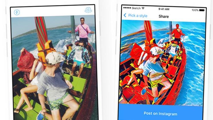Convierte tus fotos en obras de arte con aplicacion Prisma