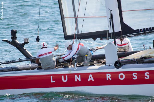 America's cup di vela-Napoli-Luna rossa-Prada