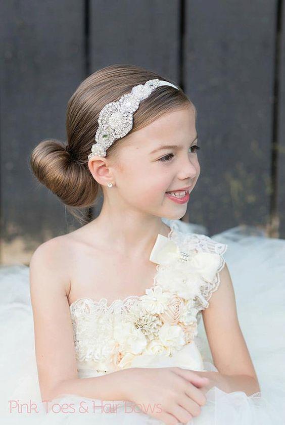 Espectacular peinados comunion con diadema Colección de estilo de color de pelo - La moda en tu cabello: Llamativos peinados para niñas en ...