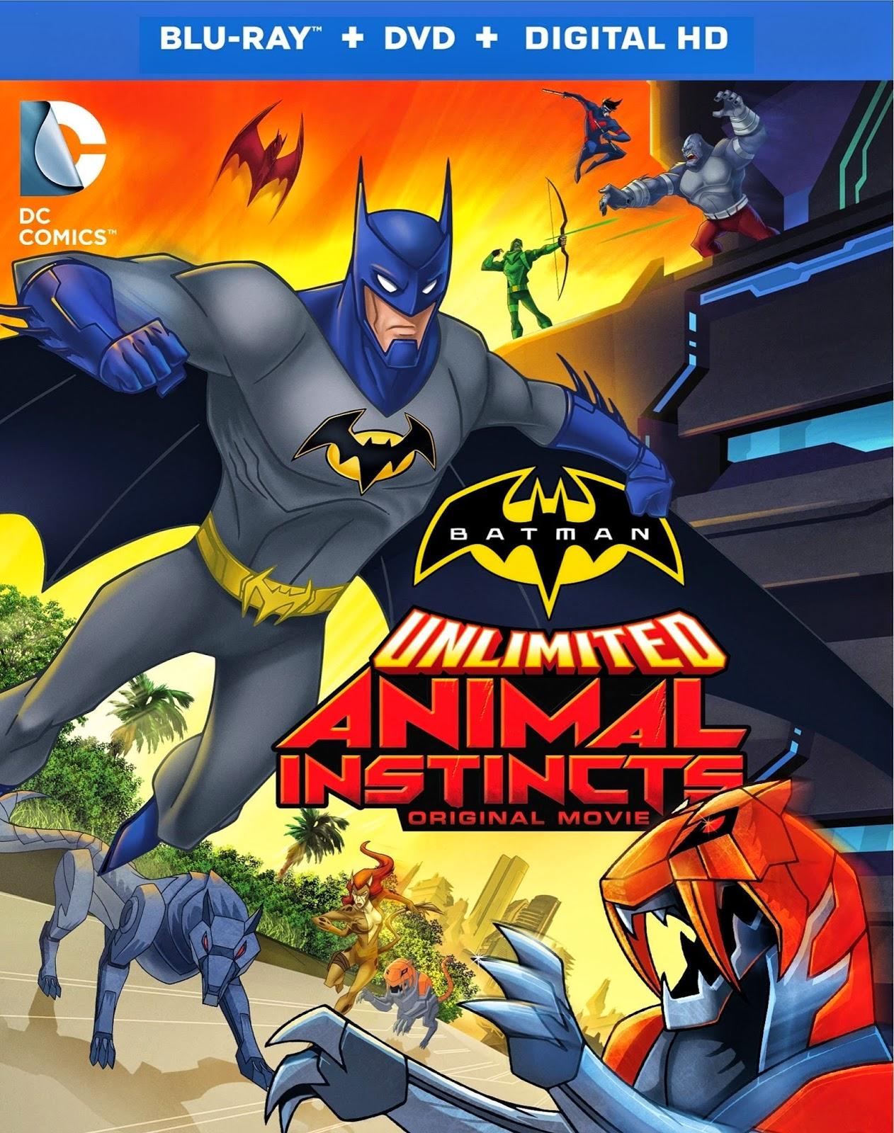 Batman Unlimited Animal Instincts แบทแมน ถล่มกองทัพอสูรเหล็ก [HD][พากย์ไทย]