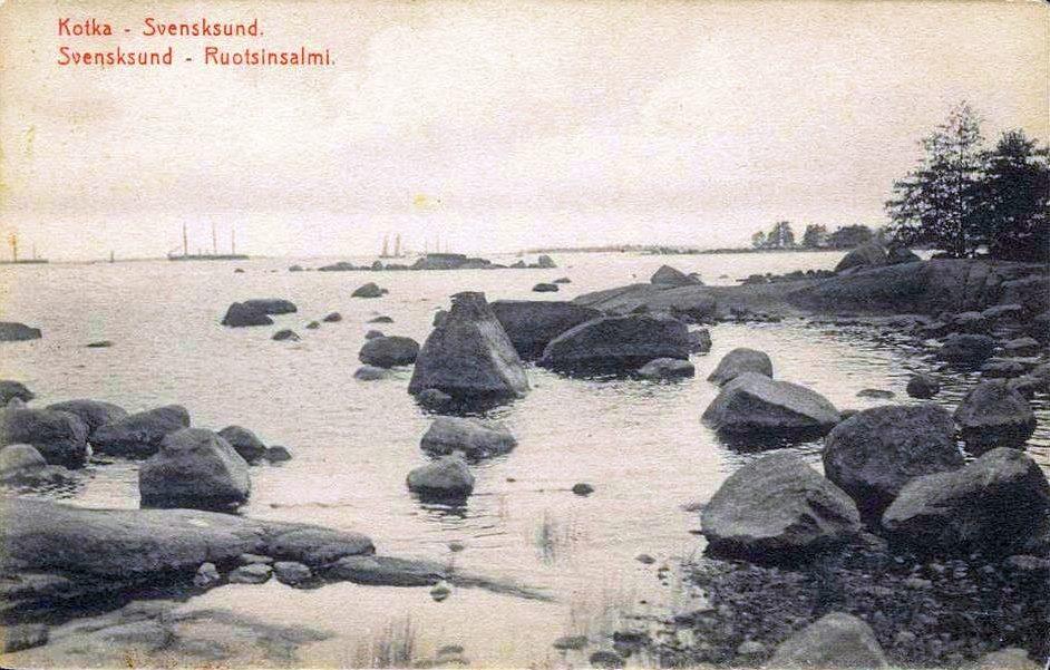 Ruotsinsalmen suulla