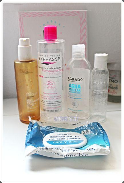 productos terminados limpieza facial