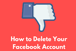 Deleting Facebook Account | Erase  Facebook Account 2019.