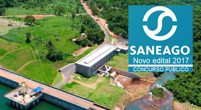 Concurso Saneago edital 2017.2018