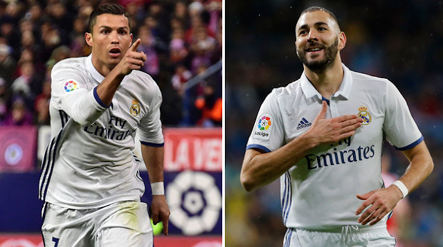 Cristiano Ronaldo dan Benzema Ancaman Utama di Camp Nou