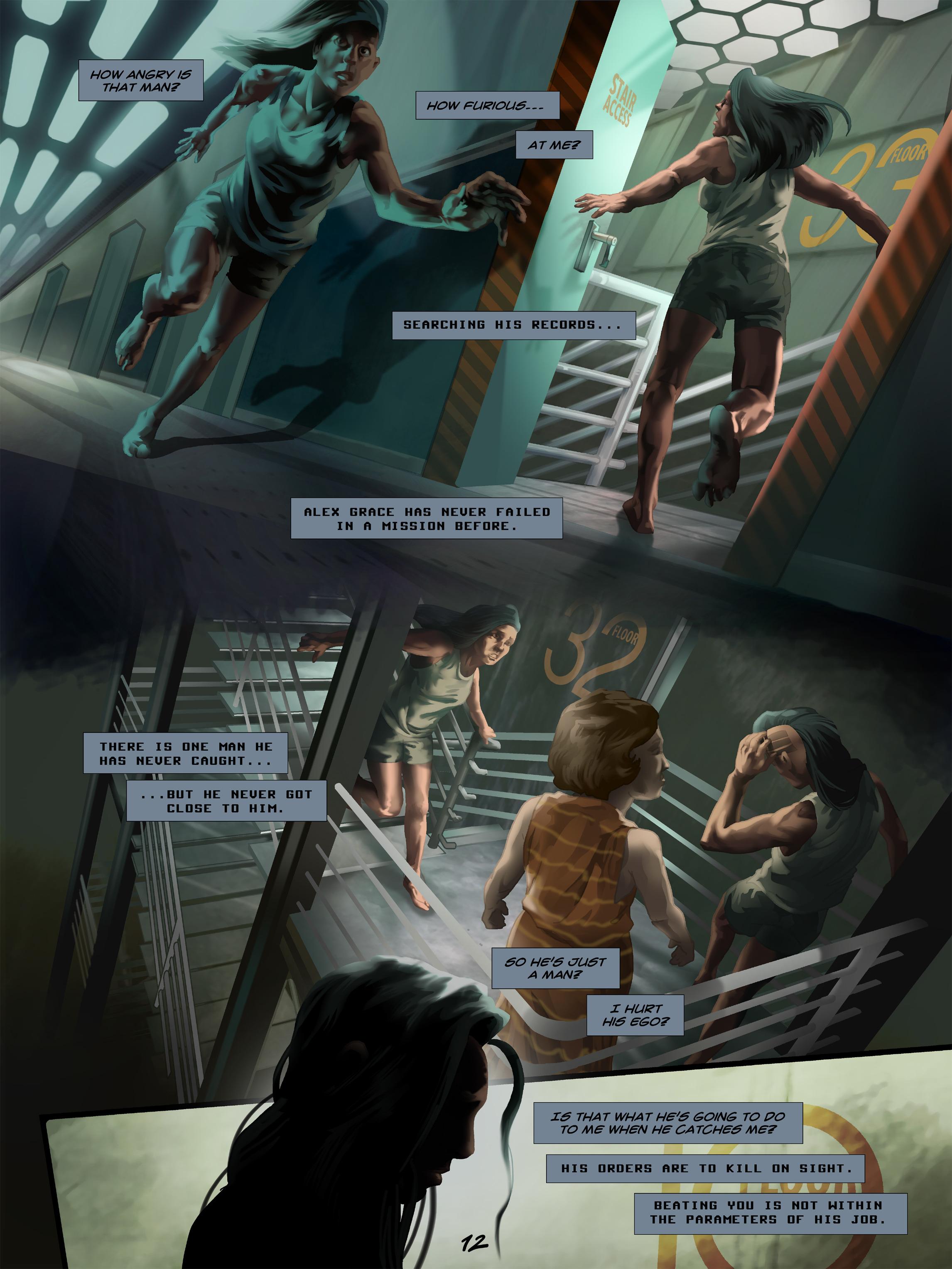 Read online Wynter comic -  Issue #5 - 13
