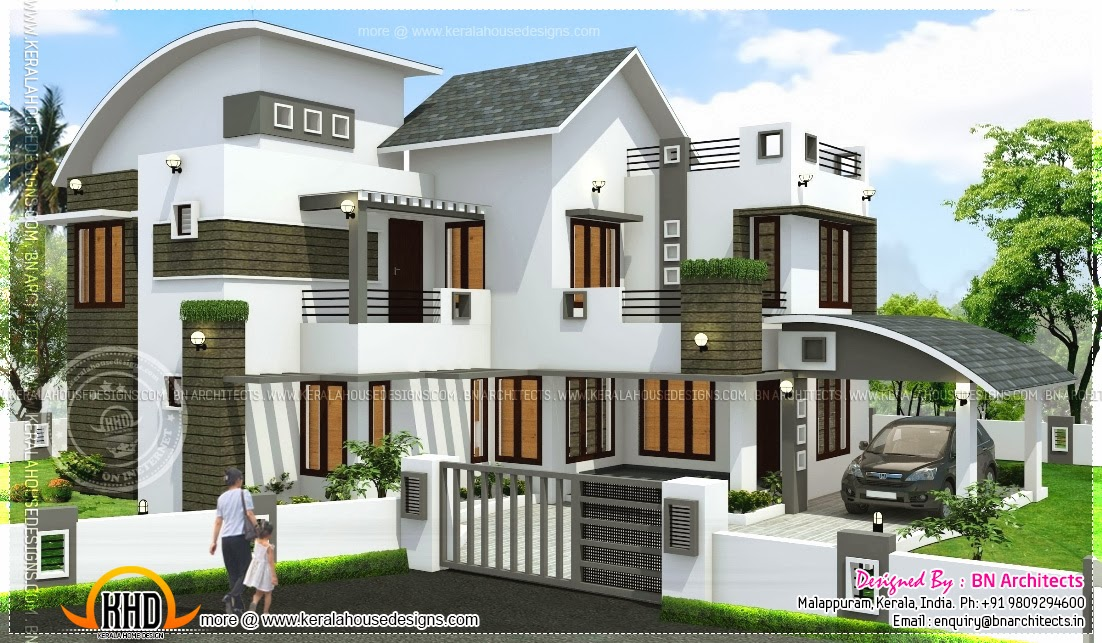 Free Floor Plan Of 2160 Sq Feet House Kerala Home Design