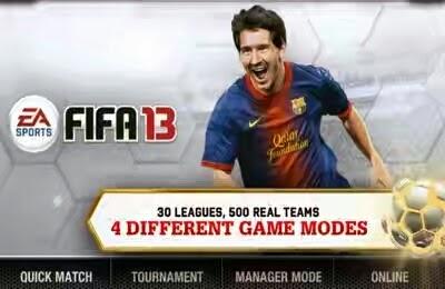 Fifa 13 Apk + Data v1.0.1