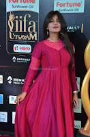 Monal Gajjar in Maroon Gown Stunning Cute Beauty at IIFA Utsavam Awards 2017i 004.JPG