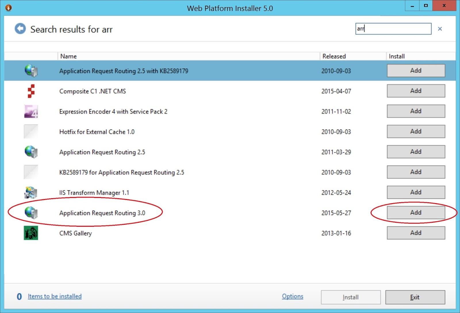 Kressmark Unified Communications: Windows 2012 R2 IIS 8 5 and ARR
