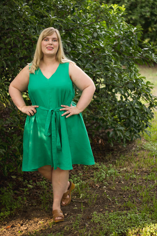 Miss Gloria and the Swinging Vines: Papercut Sway Dress
