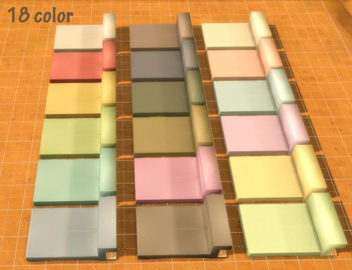 My Sims 4 Blog: Looks Like Cardboard Bed Frame by Roundog