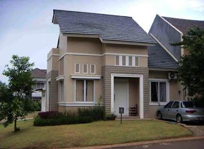 contoh warna rumah minimalis yang bagus dan indah