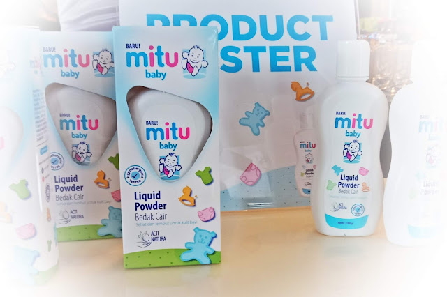 Mitu Baby Liquid Powder Bedak Cair Bayi  #HappyTanpaHachi