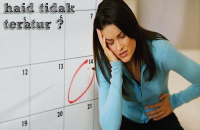 penyebab haid tidak teratur