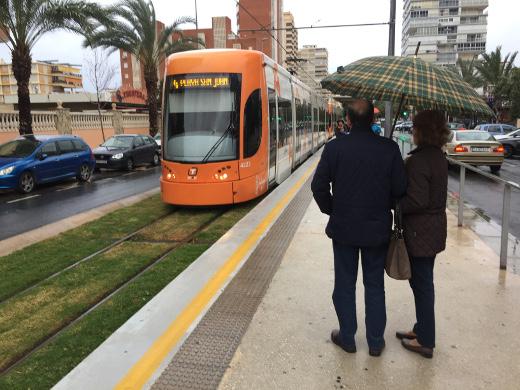 TRAM d'Alacant desplazó en octubre a más de 900.000 viajeros