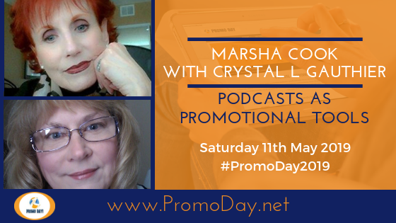 Promo Day 2019 Presenters Marsha Cook and Crystal L. Gauthier