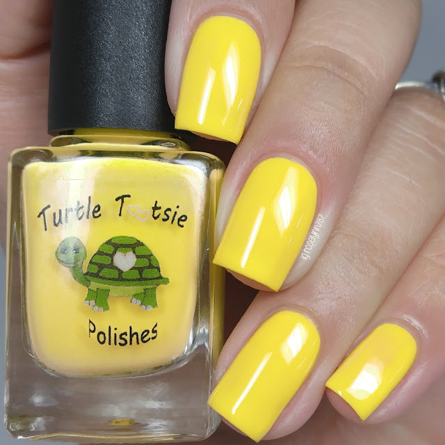 Turtle Tootsie Polishes - Yellow Ranger