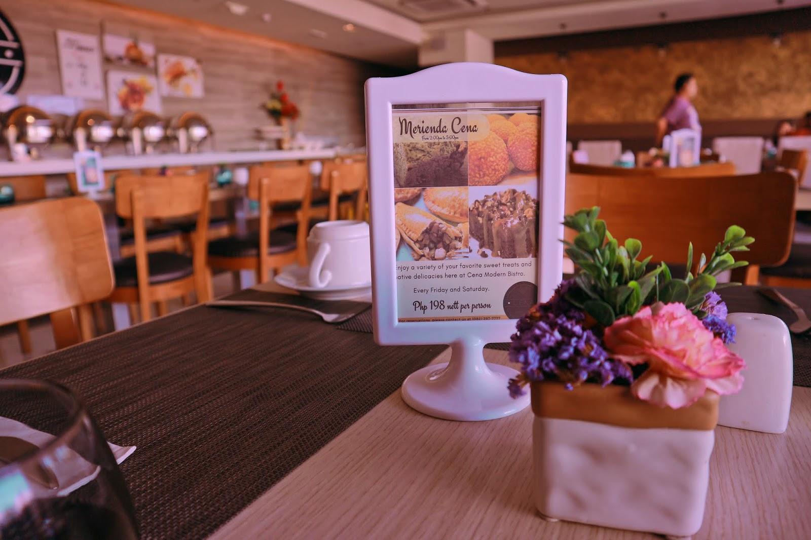Home Crest Hotel Davao Jexx Hinggo CENA Modern Bistro