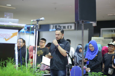 Dato' Fazley Yaakob di Program Jom Masuk IPT Parlimen Tawau