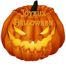 Joyeux halloween- happy halloween in french animated gif Images