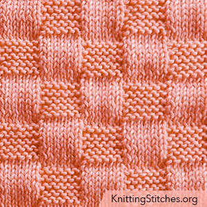 knit Basket Weave stitch. It is so easy to make with just knit and purl stitches, but looks so rich.