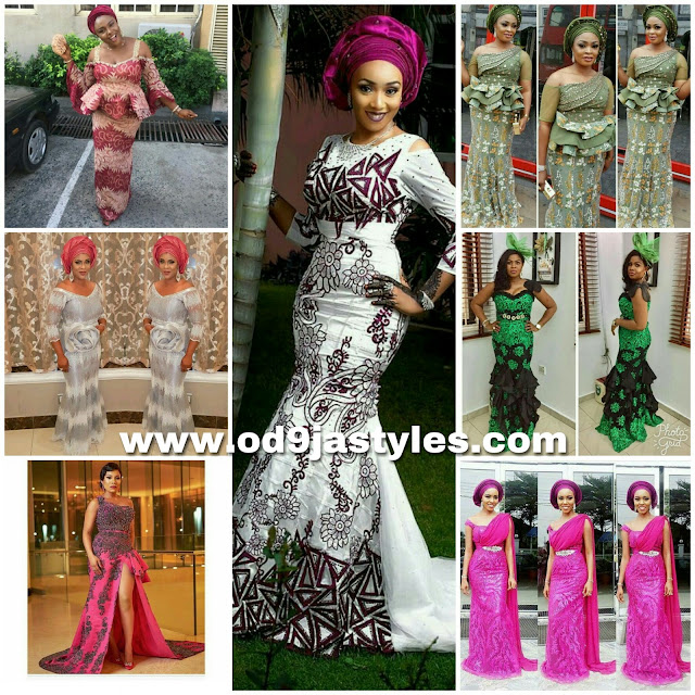 Recent and trend setting aso ebi styles