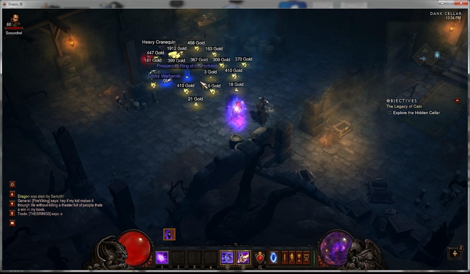 Diablo AFK Bots: Diablo 3 easy gold and item farming routes