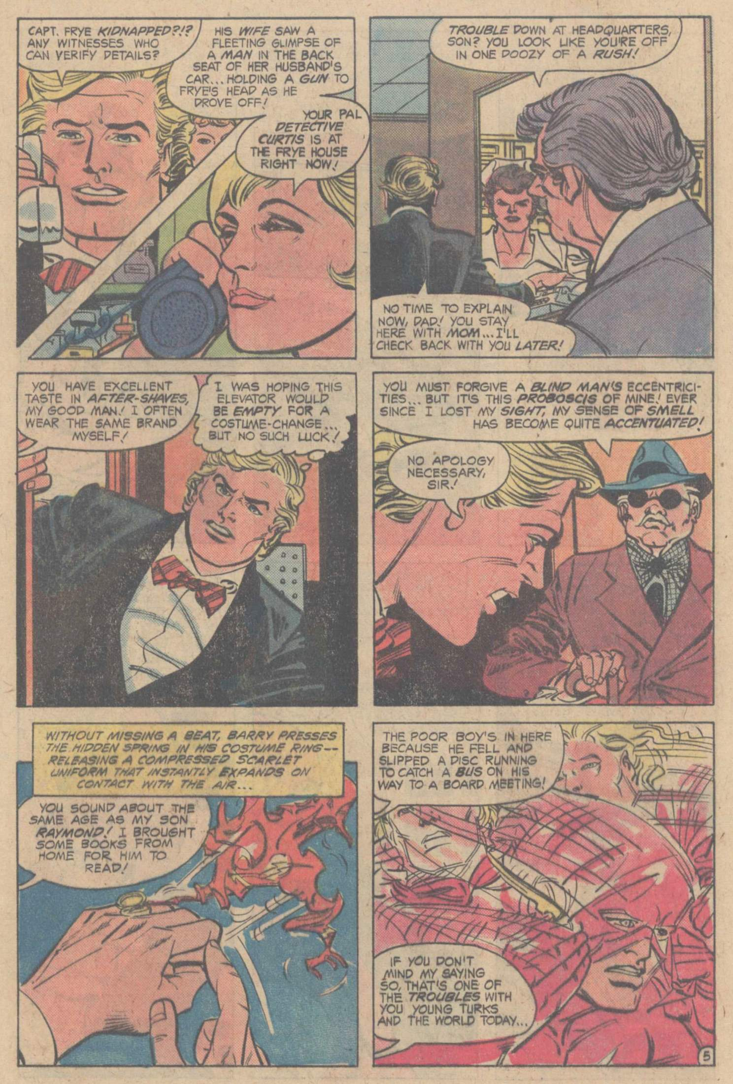Comic The Flash (1959) issue 198