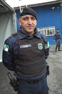Ari Stermer, assumiu o comando da Guarda Municipal de Pinhais (PR)