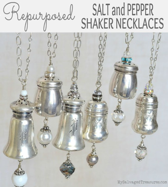 salt and pepper shaker necklaces