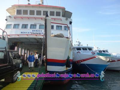 kapal penyeberangan ke karimunjawa