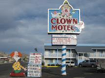 Travel Spotlight Clown Motel Pocket Pause