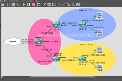 Tutorial Redistribute Default Route Pada Routing OSPF di Mikrotik