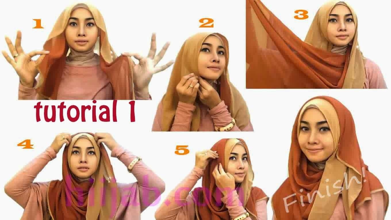 Kamu Berkulit Gelap Tutorial Hijab Berikut Ini Bisa Kamu Coba