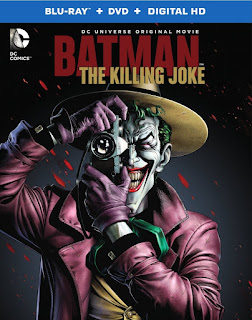 portada de la edición en bluray y dvd de The killing Joke