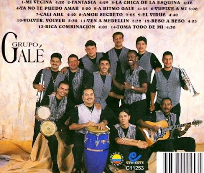 Foto de Galé en portada de disco