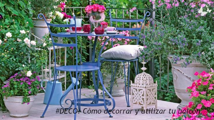 03.11.2016 #DECO. Cómo decorar y utilizar tu balcón by Claudia Ortiz