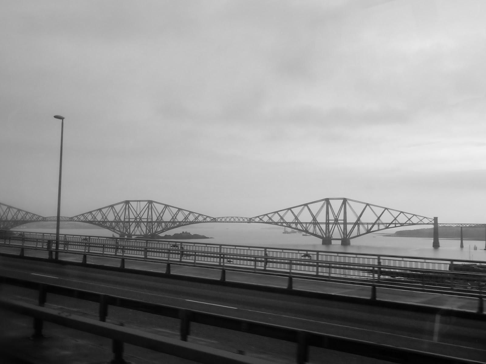 Forth Rail Bridge Edinburgh Scotland UNESCO