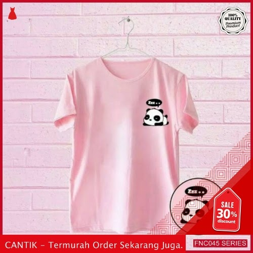 FNC045T37 Tshirt Panda Zz Tumbrl Wanita Tee 4w Serba 30 Ribuan