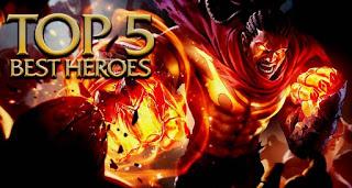 hero aov, hero terkuat di aov, hero aov terkuat, daftar hero aov, hero paling kuat aov