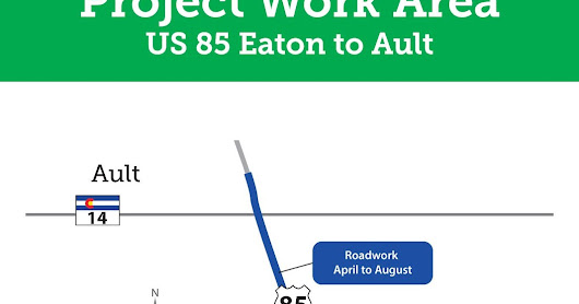 CDOT announces opening of U.S. 85 lane between Eaton, Ault