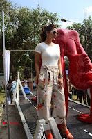 Bollywood Actress Shilpa Shetty Pos at Yoga Posed Statue Inauguration .COM 0006.jpg