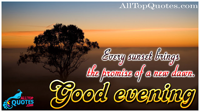 Good Evening Beautiful Sunset Quotes All Top Quotes Telugu